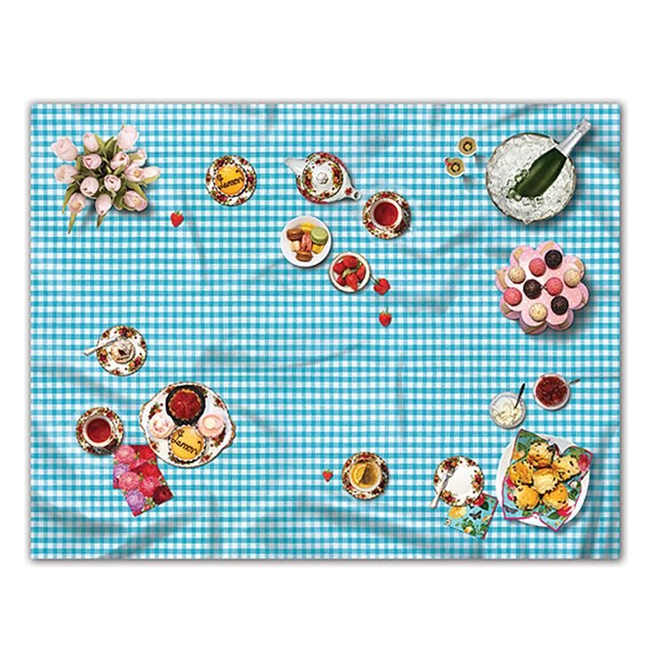 top3 by design - Glorious Difference - gd picnic rug high tea