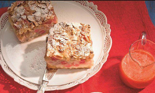 Rhabarber-Baiser-Kuchen Rezept | Dr. Oetker