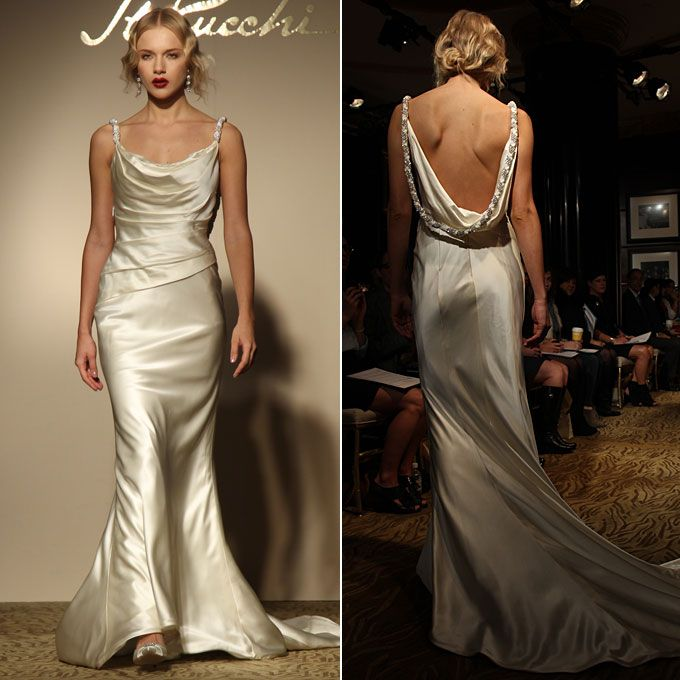 Style Z342, $3,990, St. Pucchi See more St. Pucchi wedding dresses in our gallery.