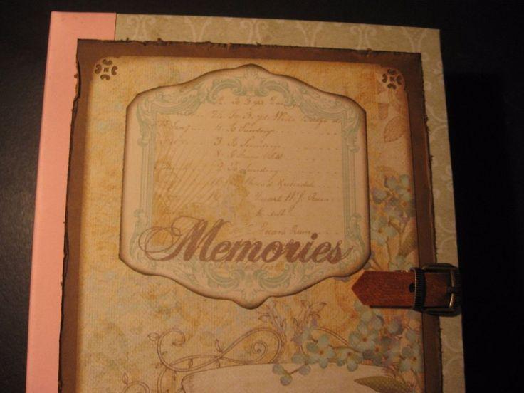 Handmade Journal Diary Mini Album for journaling scrapbook CCCC CHRIS #Handmade #Handmade journal #diary