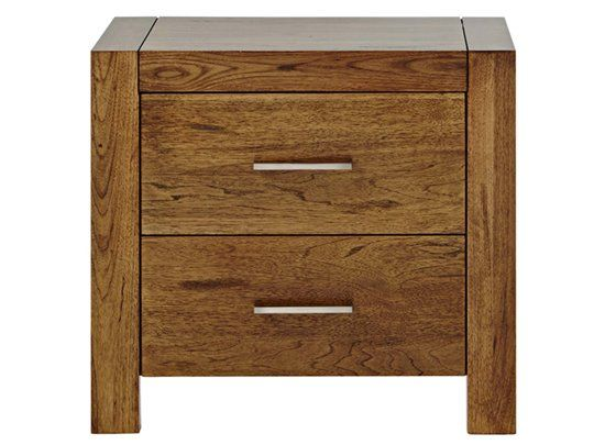 Clovelly Bedside Table (2 drawer) main product image 1 429