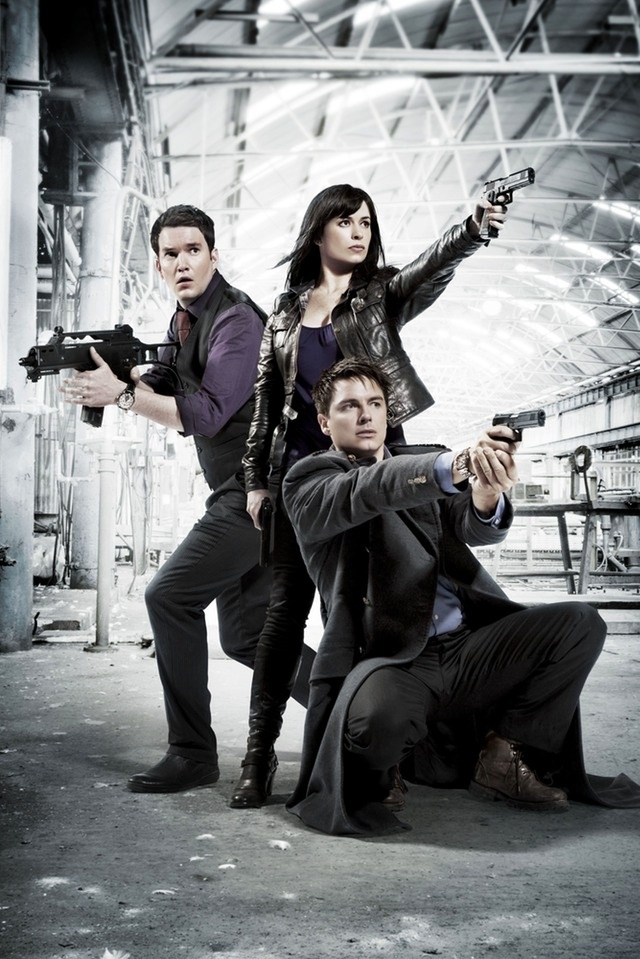 Day 23: Favorite spin off. Torchwood, I think. I haven't seen a lot of the Doctor Who spinoffs, but I did see a little bit of Torchwood. I liked it, and it's probably my favorite spinoff so far. (-Holly M.)