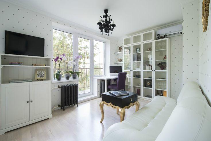 Дизайн однокомнатной квартиры-сталинки: 4 планировки