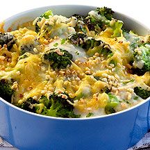 Blumenkohl-Broccoli-Auflauf