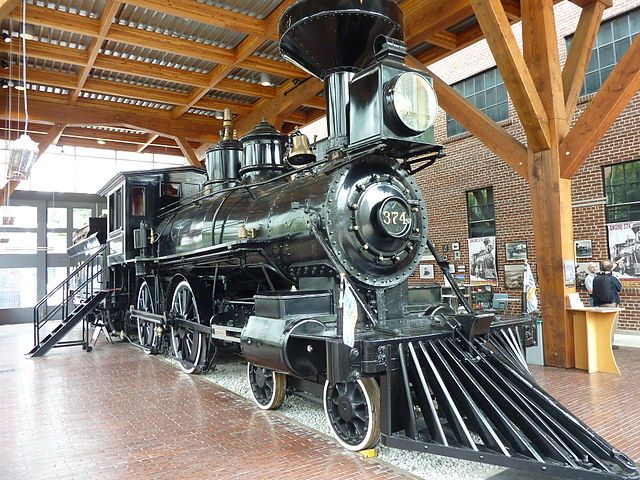 The Canadian Pacific Railway Roundhouse, Vancouver, British Columbia