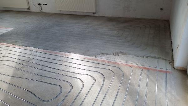 Fußbodenheizung nachrüsten in den vorhandenen Boden !