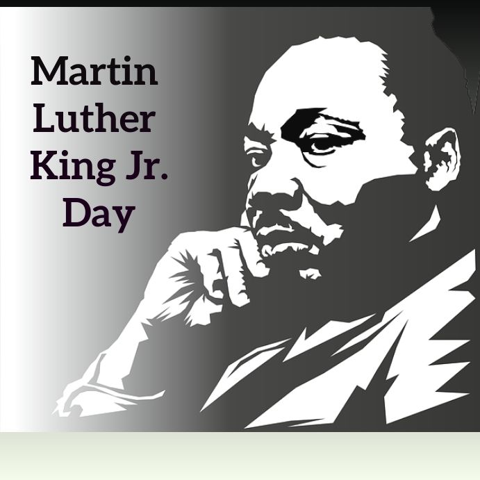 Martin Luther King Day Template In 2021 Black History Month Posters Black History Month Black History