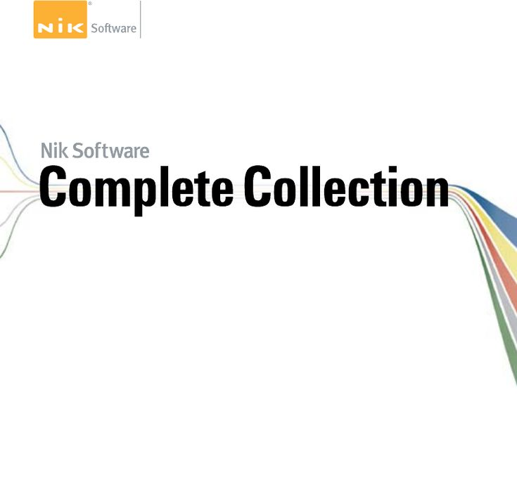 Nik Software Complete Collection manual