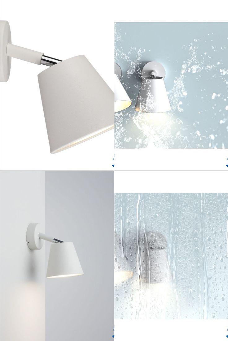Badezimmer Lampe   Badezimmer licht, Lampe badezimmer, Wandlampe bad
