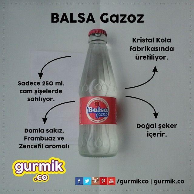 Geçen ay tanıttığım Balsa Gazoz'un frambuaz aromalısı… Ayrıca damla sakızlı ve zencefillisi de var. Ancak frambuazın tadını gazozda alamadım. :(