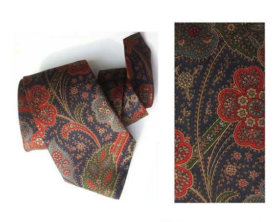 Wedding necktie vintage groom's tie silk neckties by MensSilk