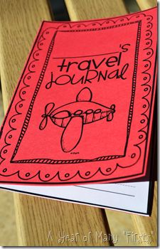 Summer Travel Journal for Students