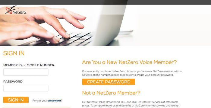 netzero.net/login
