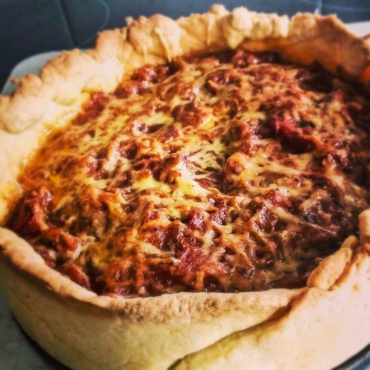 My Dream Kitchen : Recipe Box : Chicago Style Pizza
