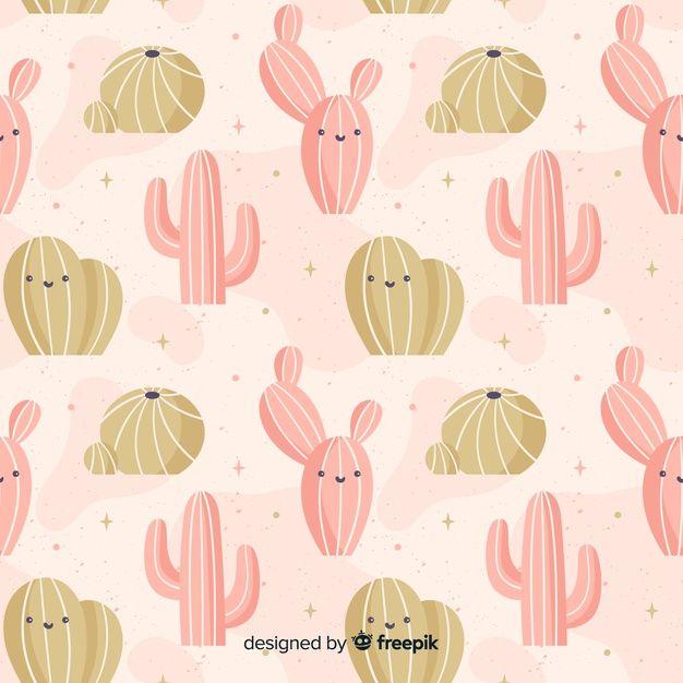 Mao Desenhada Cacto De Fundo How To Draw Hands Background Patterns Cactus