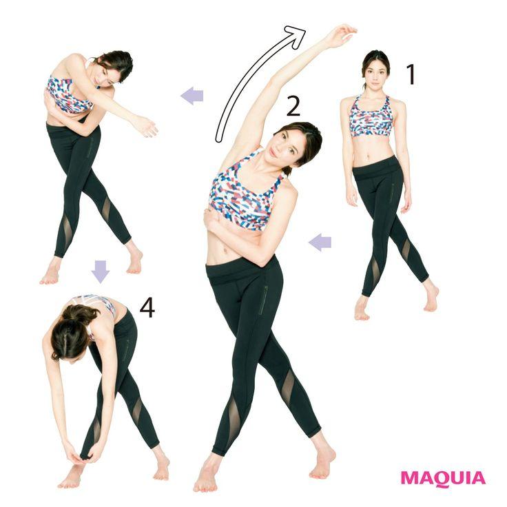 バックストレッチ神経が張り巡らされている背骨まわりと胸の筋肉のこわばりを改善。筋トレ効率も高める。背骨や胸のこわばりをしっかり伸ばす①左手はやや前に置いて四つんばいに。②右手のひらを上に、左手の下へ通す。③そのまま肩を床につけ、胸の中...