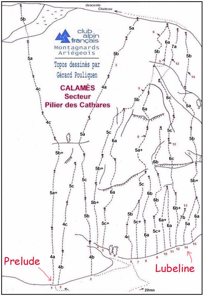 Via prelude- Calames ,France