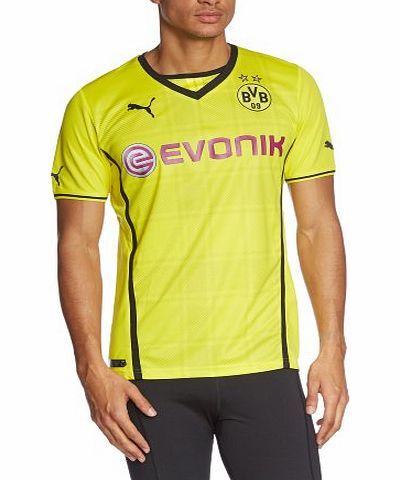 Puma Mens Replica Football Shirt with Sponsor Logo Borussia Dortmund Home blazing yellow-black Size:S No description (Barcode EAN = 4053057974875). http://www.comparestoreprices.co.uk/football-shirts/puma-mens-replica-football-shirt-with-sponsor-logo-borussia-dortmund-home-blazing-yellow-black-sizes.asp
