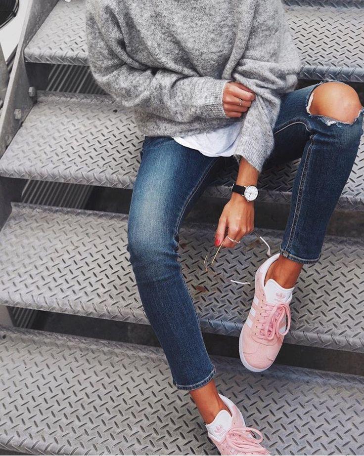 Rosa zapatos