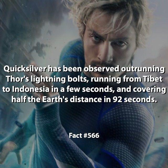 Quicksilver  - Marvel FACT !!! °°