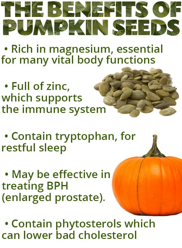 Pumpkin seeds offer numerous benefits for men's health.