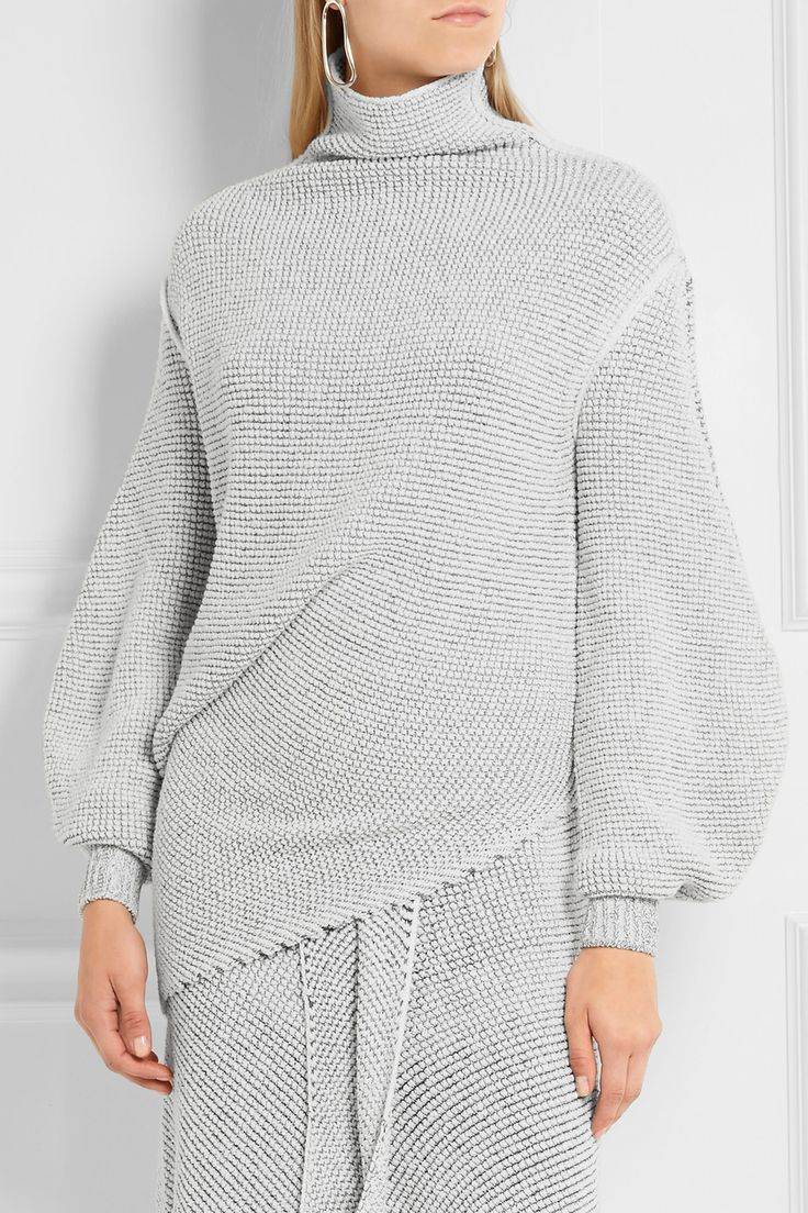 Stella McCartney | Oversized stretch wool-blend bouclé sweater…