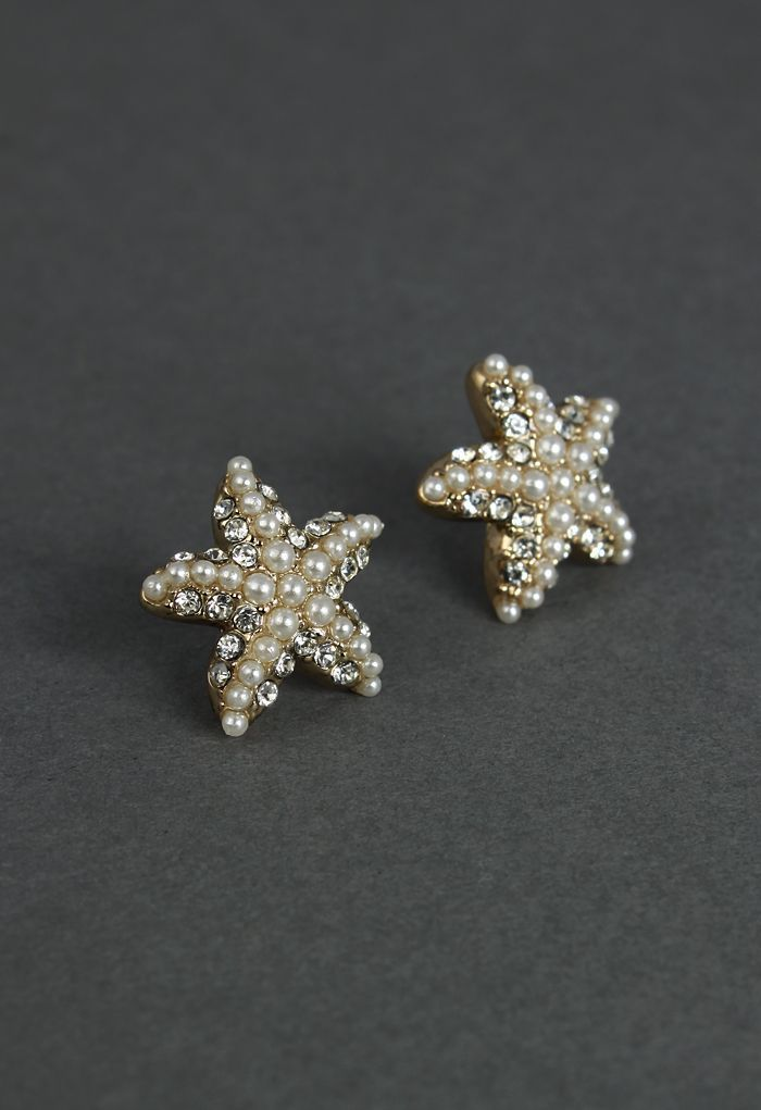 Starfish Earrings. They're only 10 bucks.  Turn into dangles.