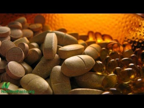 """""""Multivitamin Supplements and Breast Cancer"""" - by Dr. Michael Greger - New research suggests that multivitamin use may significantly increase the risk of breast cancer and prostate cancer."""