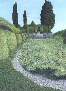 Trompe garden mural