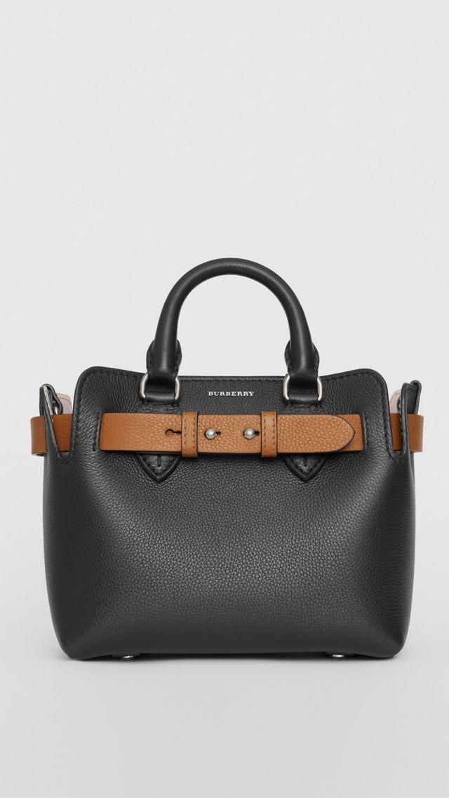 0688daa94570 The Mini Leather Belt Bag in Black - Women in 2019