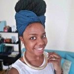 Tutorial: Easy Head Wrap Style for Braids, Twists or Locs   – Wraps for locs