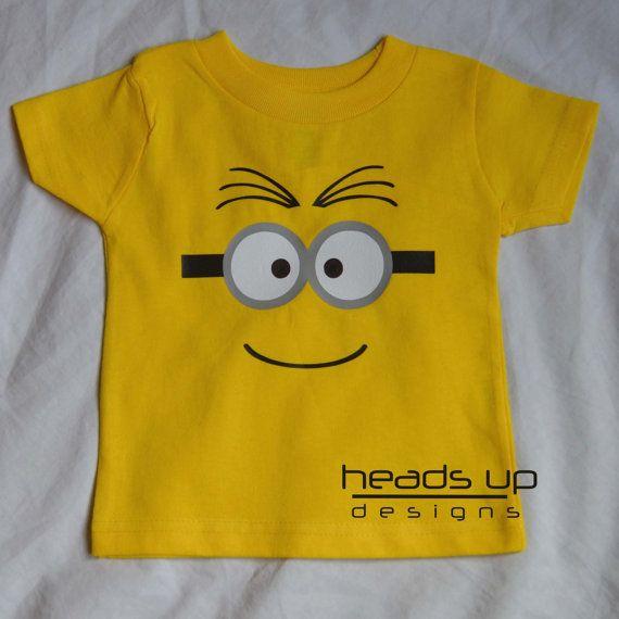 baby minion onesie baby boy minion tshirt despicable. Black Bedroom Furniture Sets. Home Design Ideas