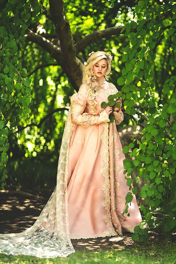 Ever After Gown Custom Fantasy Medieval Princess Gown New