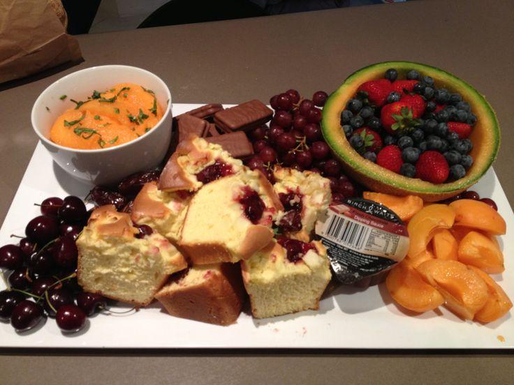 Morning tea/desert platter