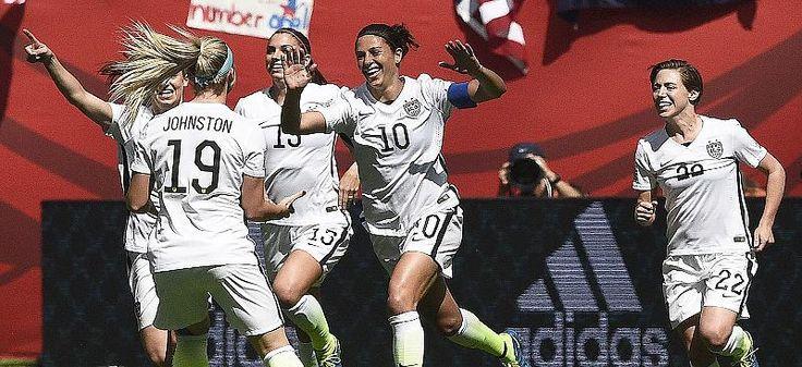USA gewinnen Frauen-WM: Hattrick mit 50-Meter-Tor: US-Präsident Obama feiert Final-Heldin Lloyd - Video - Video - FOCUS Online