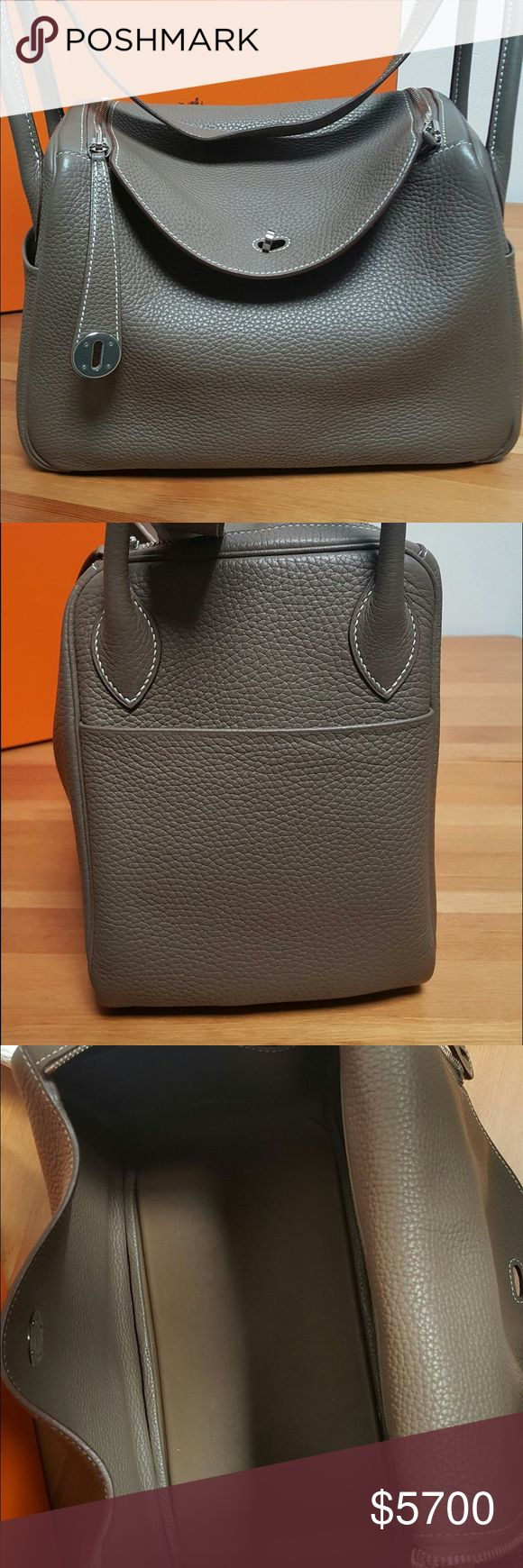 Hermes Lindy 30 Comes with the dust bag, box. Like new condition. Leave your email below if you would like to request additional photos. I will only provide a photo of the receipt once the bag is purchased. So please do not ask. 100% Authentic. Hermes Bags Shoulder Bags
