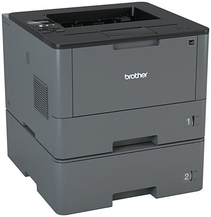 Brother Monochrome Laser Printer Hl L5200dwt Duplex Printing Wireless Networking Dual Paper Trays Mobile Printing Amaz Laser Printer Mobile Print Printer