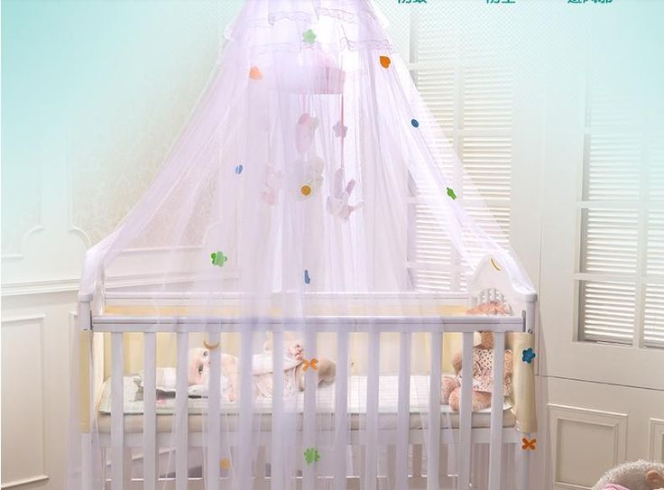 2016 New Arrivel Cheap Baby Crib Mosquito Net Infant Canopy Bed Tent Cortina