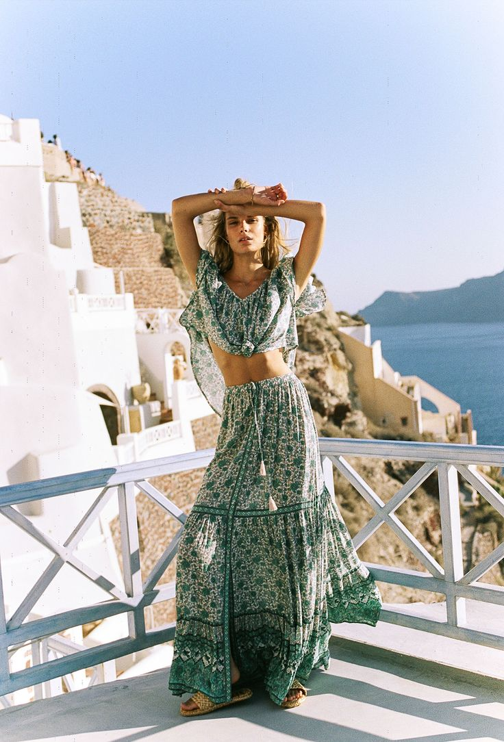 Under The Spell_ss17_You gotta hand it to the ladies behind Spell. They consistently churn out collections that give me all the boho feels. I'm always left daydreaming of a life where all I wear is paisley and floral block printed dresses, rompers and swimwear 24/7 –