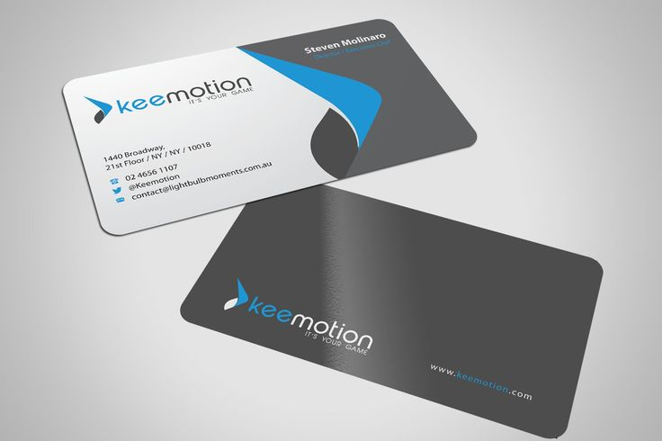 Design #45 by Totok.budiarto™ | Create stunning Business cards for Keemotion