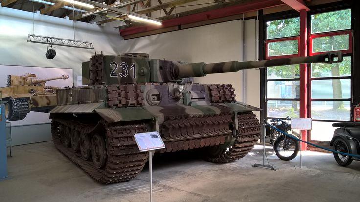 Tiger Saksan panssarimuseo Munster