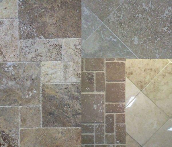 Travertine Tile Finishes Honed Tumbled Polished And