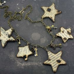 Make this cool burnt offerings necklace with Margot Potter on the iLoveToCreate blog.