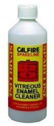 Calfire Enamel Cleaner - 500ml  http://www.woodburningstovesandflues.co.uk/stove-accessories-stove-cleaning-stove-gloves-c-160_165/enamel-cleaner-500ml-p-788