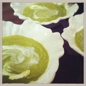 Thermomix Zucchini Soup | Carmen Eat Joy