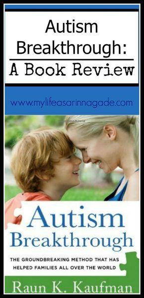 I was given thebook Autism Breakthrough for free in exchange for writing an honest review post. All opinions are strictly mine and I would never recommendmaterial that I do not love. Today's post is a real treat. I was fortunate enough to review the book Autism Breakthrough; the Groundbreaking Method that has Helped Famlies all over the Worldby Raun K. Kaufman which outlines a therapy called The Son-Rise Program®. It's one of those really heavy reads; I've got dog-ears and notes on…