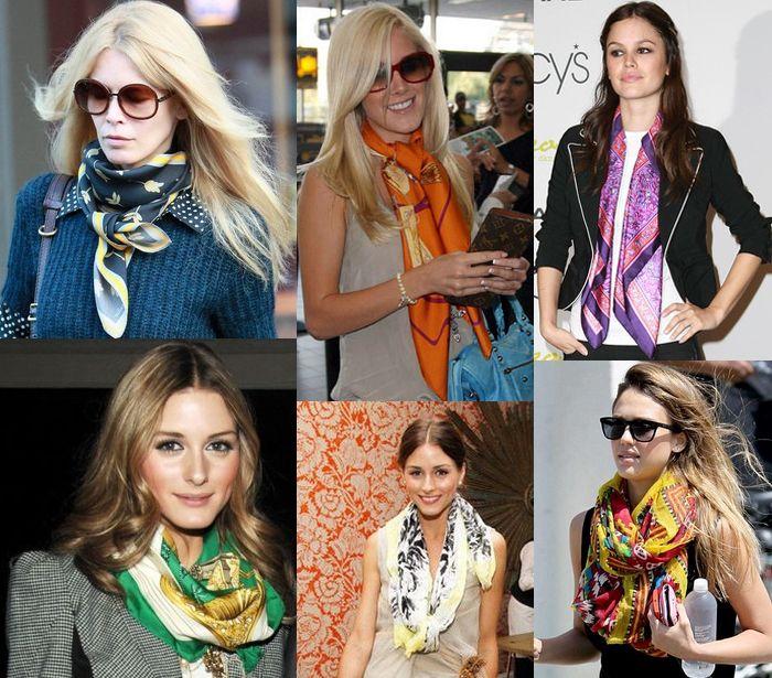 Jennifer Aniston Polka Dot Scarf | POPSUGAR Fashion