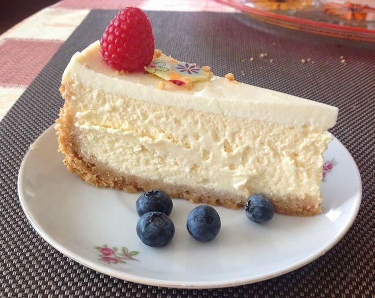 VÍKENDOVÉ PEČENÍ: Cheesecake s ovocem
