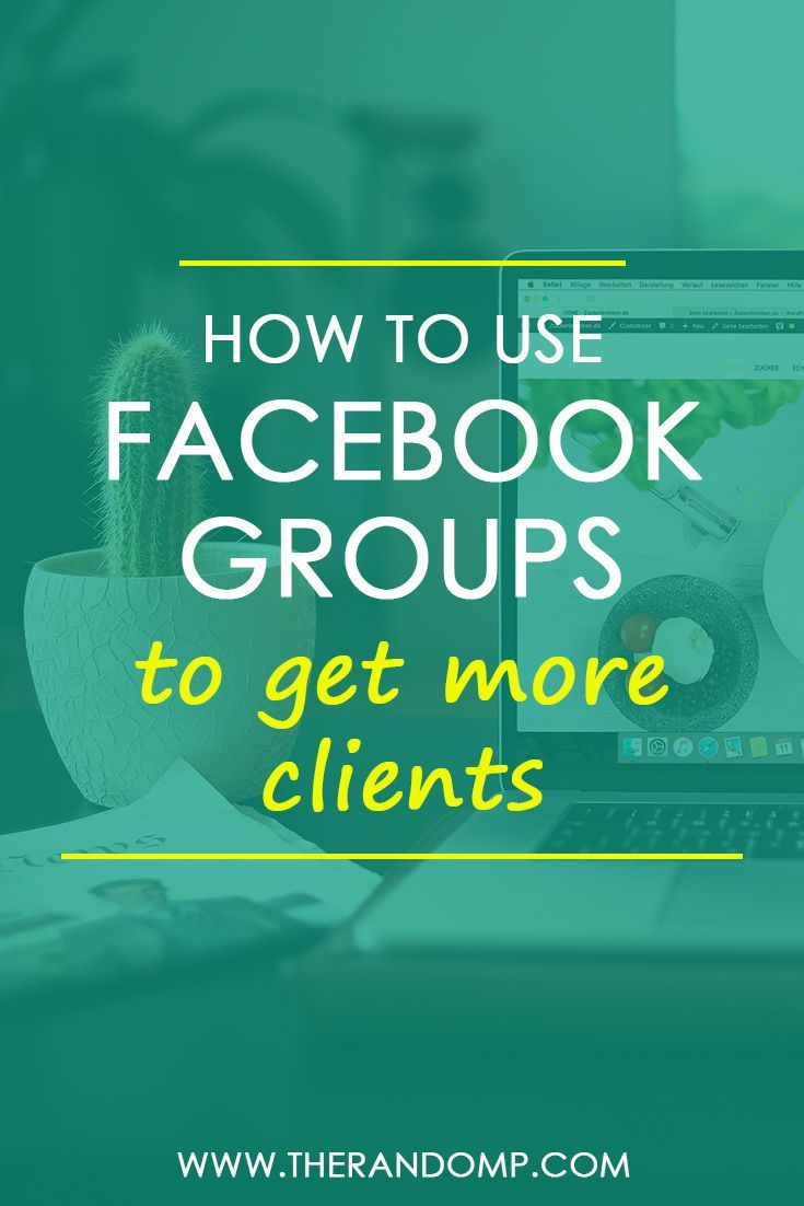 How to use Facebook groups to get more clients:  http://therandomp.com/blog/what-to-do-in-facebook-groups