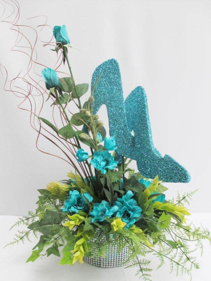 Flower Arrangements In High Heel Shoes